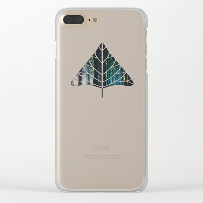 the harder the heart Clear iPhone Case