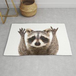 Rock Raccoon Rug
