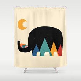 Dream In The Air Shower Curtain