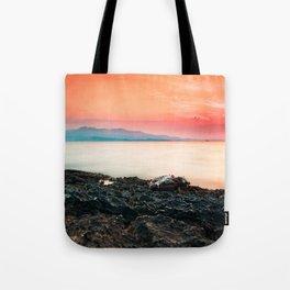 Sunset at sea IV Tote Bag