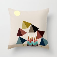 Delicate Throw Pillow