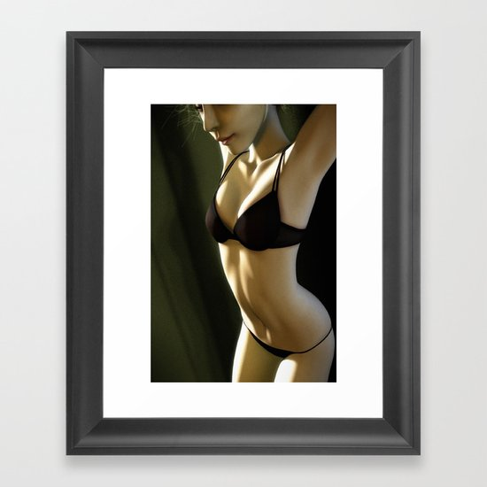 attirent01 Framed Art Print