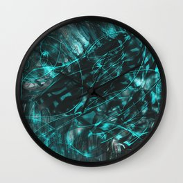 The Lost Dimension Wall Clock