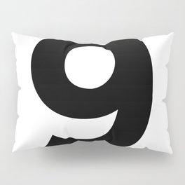 Number 9 (Black & White) Pillow Sham