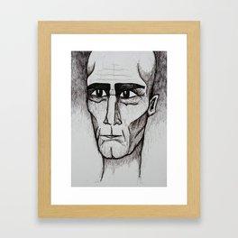 Visage 1 Framed Art Print