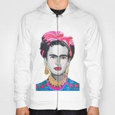 Frida Kahlo by Paola Gonzalez Hoody