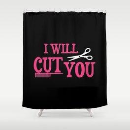 Hairdresser Gift Shower Curtain