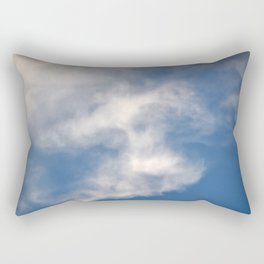 Crazy Beautiful Clouds Mesmerize #9 Rectangular Pillow