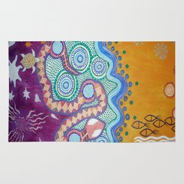 Rainbow Serpent Rug