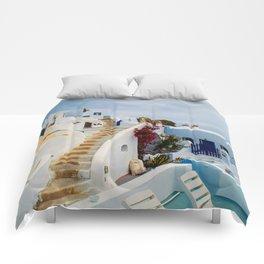 Imerovigli Santorini Comforters