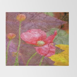The last Poppys 1 Throw Blanket