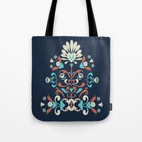 folk Tote Bags featuring Folk by Carolina Abarca