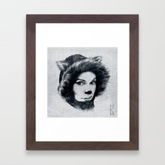 Northern Cat Framed Art Print