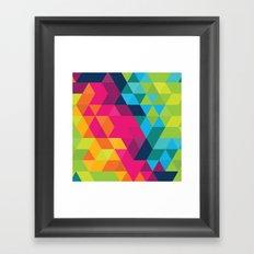 Fragmented Framed Art Print