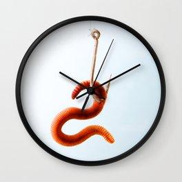 Earthworm Wall Clock