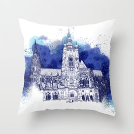 St. Vitus, Prague Throw Pillow