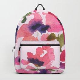 Monet's Rose Garden Backpack