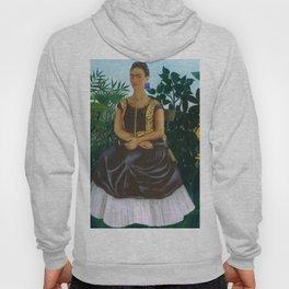 Frida's Garden, Frida Kahlo's Casa Azul, Coyoacán, Mexico rainforest floral landscape painting Hoody
