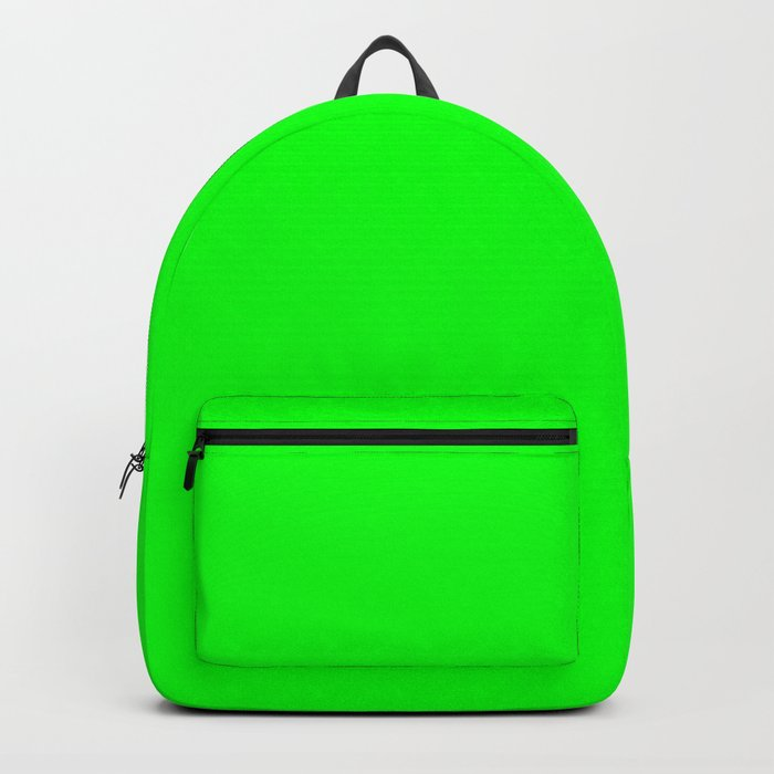 Lime Green Backpack by colorpopdesign  e27863baf