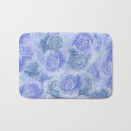 Rosey Blue Bath Mat