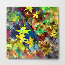 Autumn Leaves - Daylight Metal Print