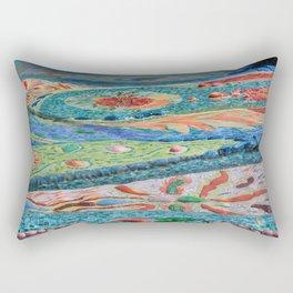the fountain 2 Rectangular Pillow