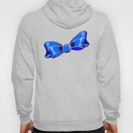 Blue Silk Bow Hoody