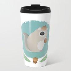 Japanese Flying Squirrel Metal Travel Mug