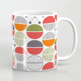 Modern Retro 1950's Inspired Pattern Coffee Mug