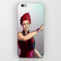 hunter x hunter iPhone & iPod Skins featuring Hisoka - Hunter x Hunter by DocLew