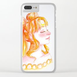 Princess Serenity Clear iPhone Case