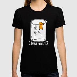 Funny Mole I Garden |Gardener I Saying T-shirt