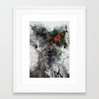 archan nair Framed Art Prints featuring Another Memory by Archan Nair