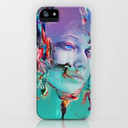 Deep Reality of Here iPhone Case