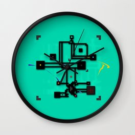 Ninety Dags Wall Clock