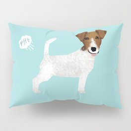 jack russell terrier farting dog cute funny dog gifts pure breed dogs Pillow Sham