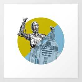 """R2D2 you know better than to trust a strange computer!"" Art Print"