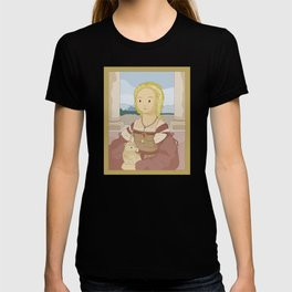 Lady with Unicorn by Raphael T-shirt