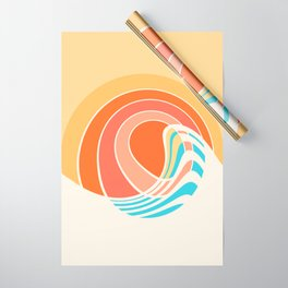 Sun Surf Wrapping Paper