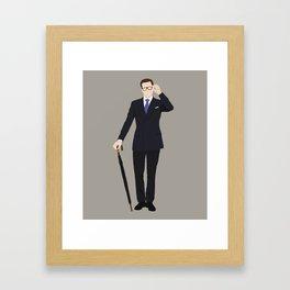 Kingsman, Harry Hart Framed Art Print