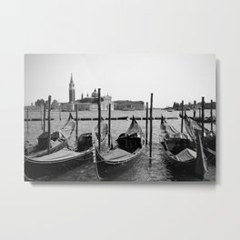 Le Gondole Metal Print