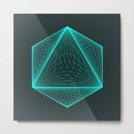 Isotomic Metal Print