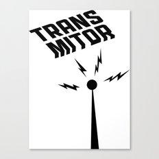 Transmitor Canvas Print