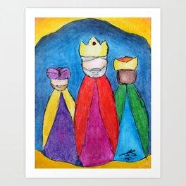 3 KINGS - The Magi Art Print