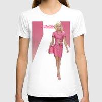 moschino T-shirts featuring MOSCHINO RUNWAY BARBIE GIRL by RickyRicardo787