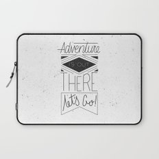 Adventure Is Out There Laptop Sleeve