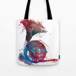 French horn #frenchhorn #music #art Tote Bag