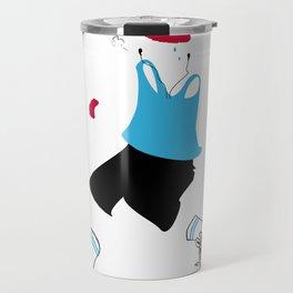 Invisible jogger Travel Mug