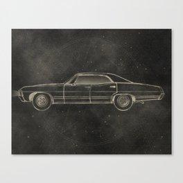 Supernatural: Impala Canvas Print