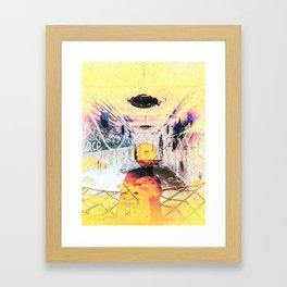 The Inner Chaos (II) Framed Art Print